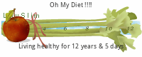 LilySlim Diet days tickers